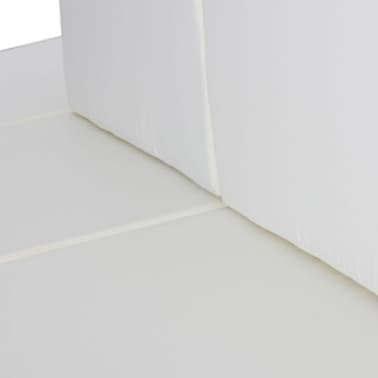 vidaXL Garden Lounge Set 24 Pieces Poly Rattan Brown[5/8]