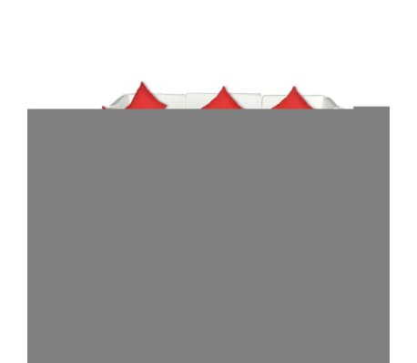 vidaXL 8 Piece Garden Lounge Set with Cushions Poly Rattan Brown[3/4]