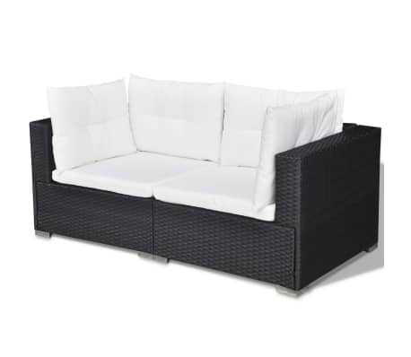Polyrattan Sofa. Finest Poly Rattan Outdoor Sofa Set Rasf With ...