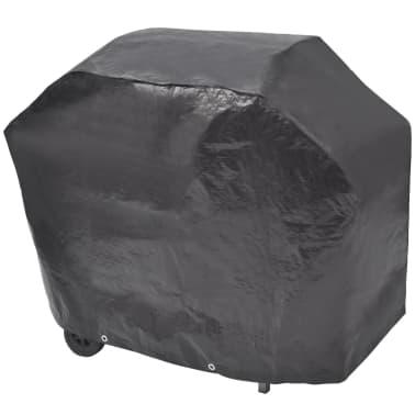 vidaXL Gasbarbecue 4+1 kookzone zwart[7/7]