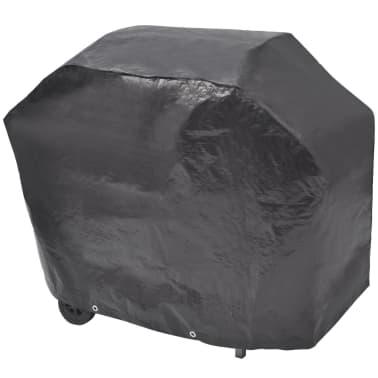 vidaXL Gasbarbecue 4+1 kookzone zwart en zilver[7/7]