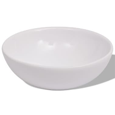 vidaXL Conjunto de mueble y lavabo 3 piezas negro[4/8]