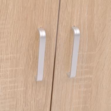 vidaXL Trzyelementowy zestaw do łazienki z umywalką, beżowy[4/10]