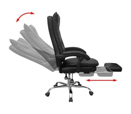 Olcsó vidaXL dönthető háttámlás vezetői irodai szék