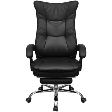 Vidaxl silla de oficina ejecutiva reclinable con - Reposapies oficina ...