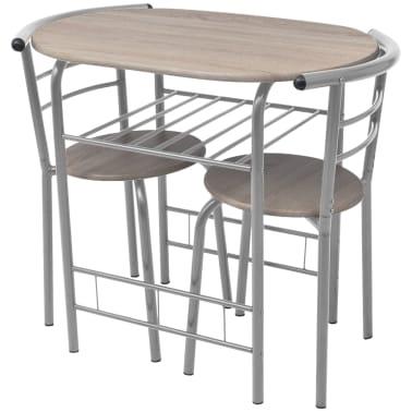 Acheter vidaXL Ensemble de meuble pour salle à manger MDF pas cher ...