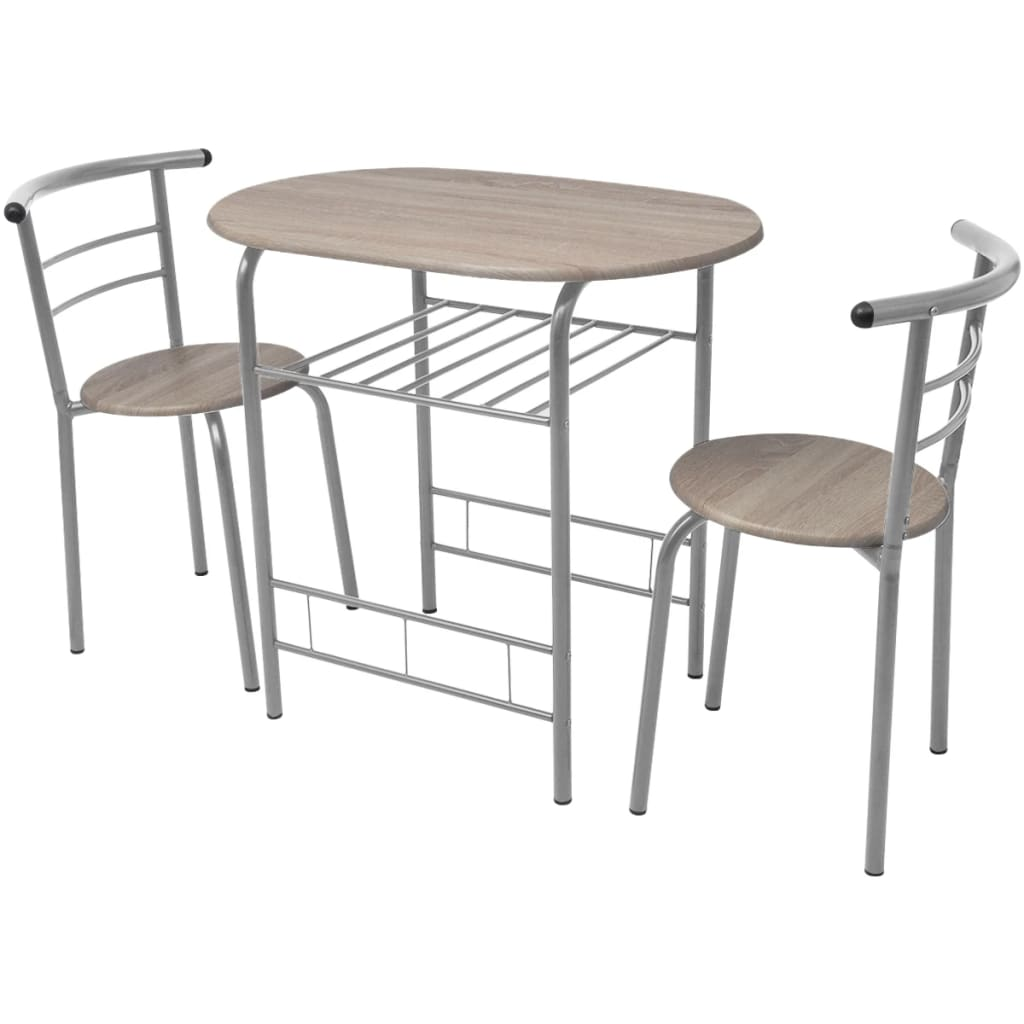 Breakfast Bar Set Mdf 5 Piece Folding Dining Table Amp Chair