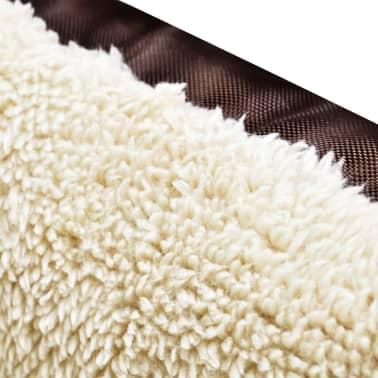 acheter vidaxl panier pour chien taille xxl marron et beige pas cher. Black Bedroom Furniture Sets. Home Design Ideas