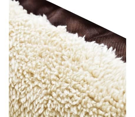 acheter vidaxl lit pour chien taille xxxl marron et beige pas cher. Black Bedroom Furniture Sets. Home Design Ideas