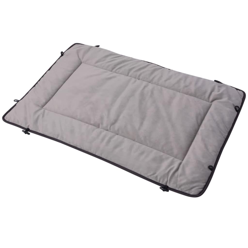 vidaXL Pelech pro psa šedý 65 x 80 cm