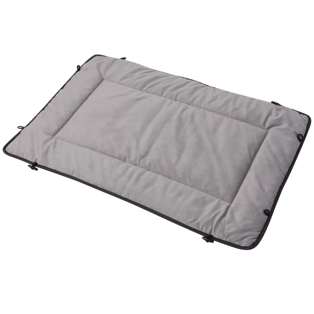 vidaXL Pelech pro psa šedý 65x100 cm
