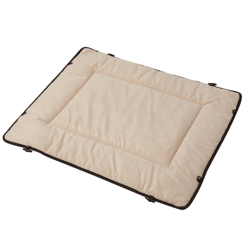 vidaXL Pelech pro psa hnědý 65x80 cm