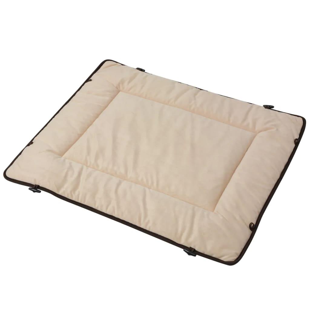 vidaXL Pelech pro psa hnědý 65x100 cm