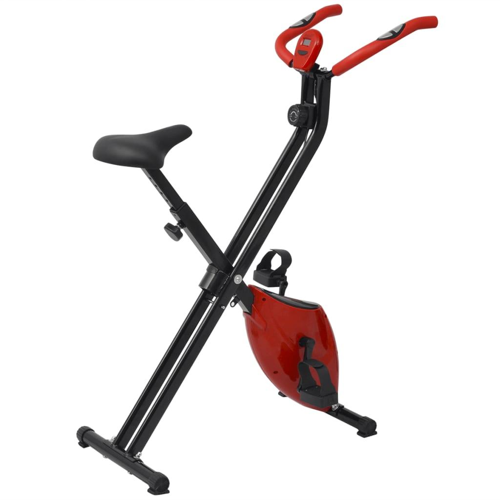 vidaXL Bicicletă fitness magnetică pliabilă 2,5 kg vidaxl.ro