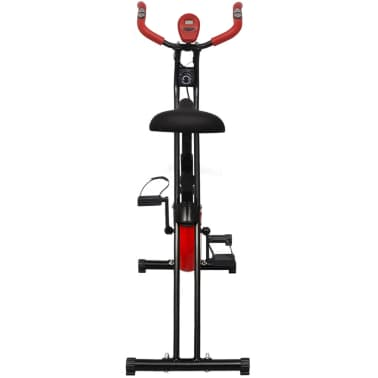 vidaXL Klappbarer magnetischer Heimtrainer 2,5 kg Schwungrad[2/11]