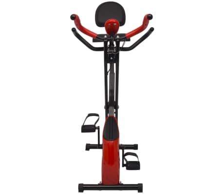 vidaXL Heimtrainer klappbar magnetisch + Rückenlehne 2,5 kg Schwungrad[2/11]