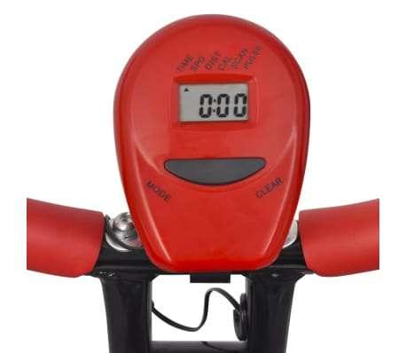 vidaXL Heimtrainer klappbar magnetisch + Rückenlehne 2,5 kg Schwungrad[8/11]