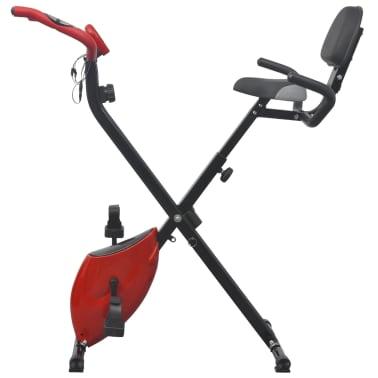 vidaXL Heimtrainer klappbar magnetisch + Rückenlehne 2,5 kg Schwungrad[5/11]