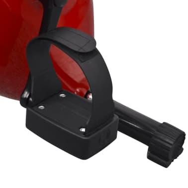 vidaXL Heimtrainer klappbar magnetisch + Rückenlehne 2,5 kg Schwungrad[9/11]