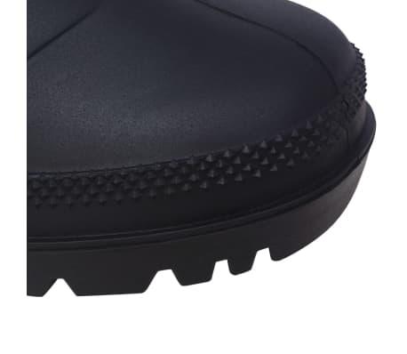 vidaXL Guminiai batai, juodi, dydis 41[6/6]