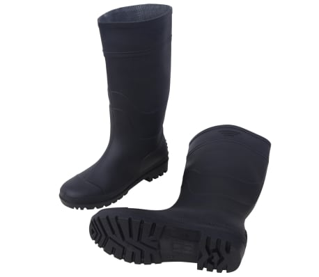 sports shoes e48be e4a57 vidaXL Gummistiefel Gr. 42 Schwarz