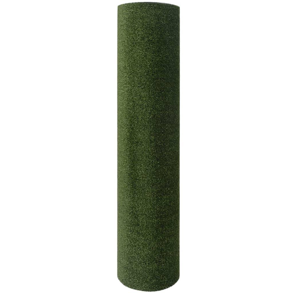 vidaXL Kunstgras 1 x 20 m / 7 - 9 mm groen