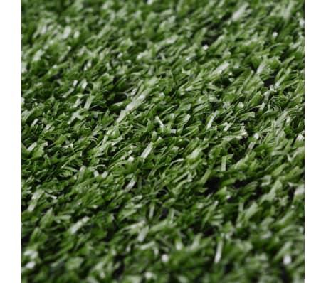 """vidaXL Artificial Grass 3.3'x65.6' /0.3""""-0.4"""" Green[3/3]"""