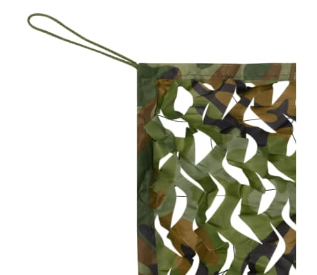 vidaXL Camouflage Net with Storage Bag 4.9'x9.8'[3/4]