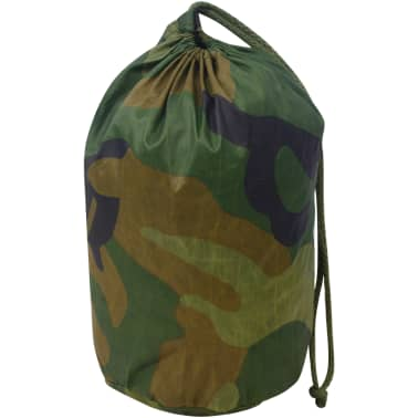 vidaXL Camouflage Net with Storage Bag 4.9