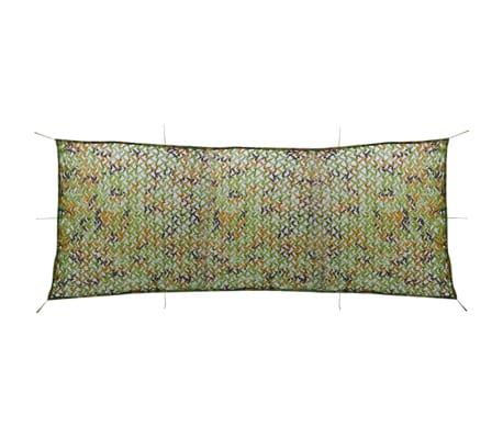 vidaXL Camouflage Net with Storage Bag 4.9'x13'[1/4]