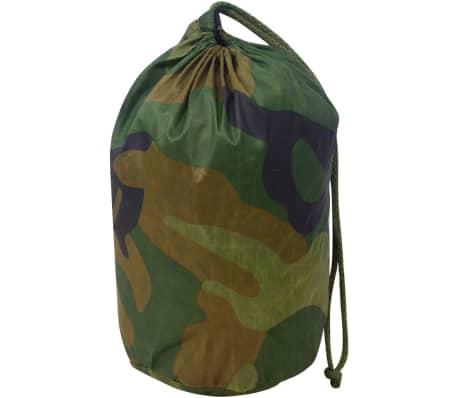 vidaXL Camouflage Net with Storage Bag 4.9'x13'[3/4]