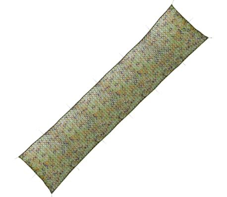 vidaXL Camouflage Net with Storage Bag 4.9'x23'[1/4]