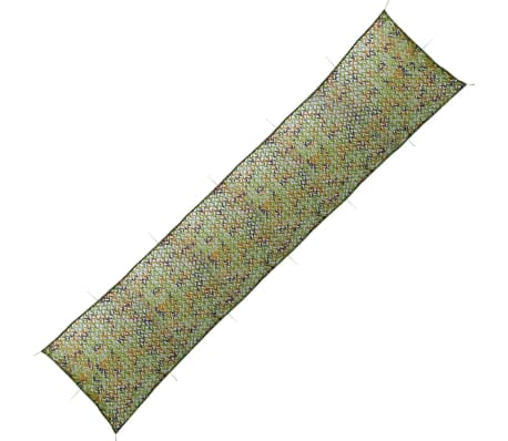 vidaXL Camouflage Net with Storage Bag 1.5x7 m[1/4]