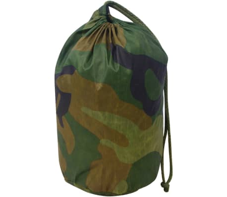 vidaXL Camouflage Net with Storage Bag 4.9'x23'[3/4]