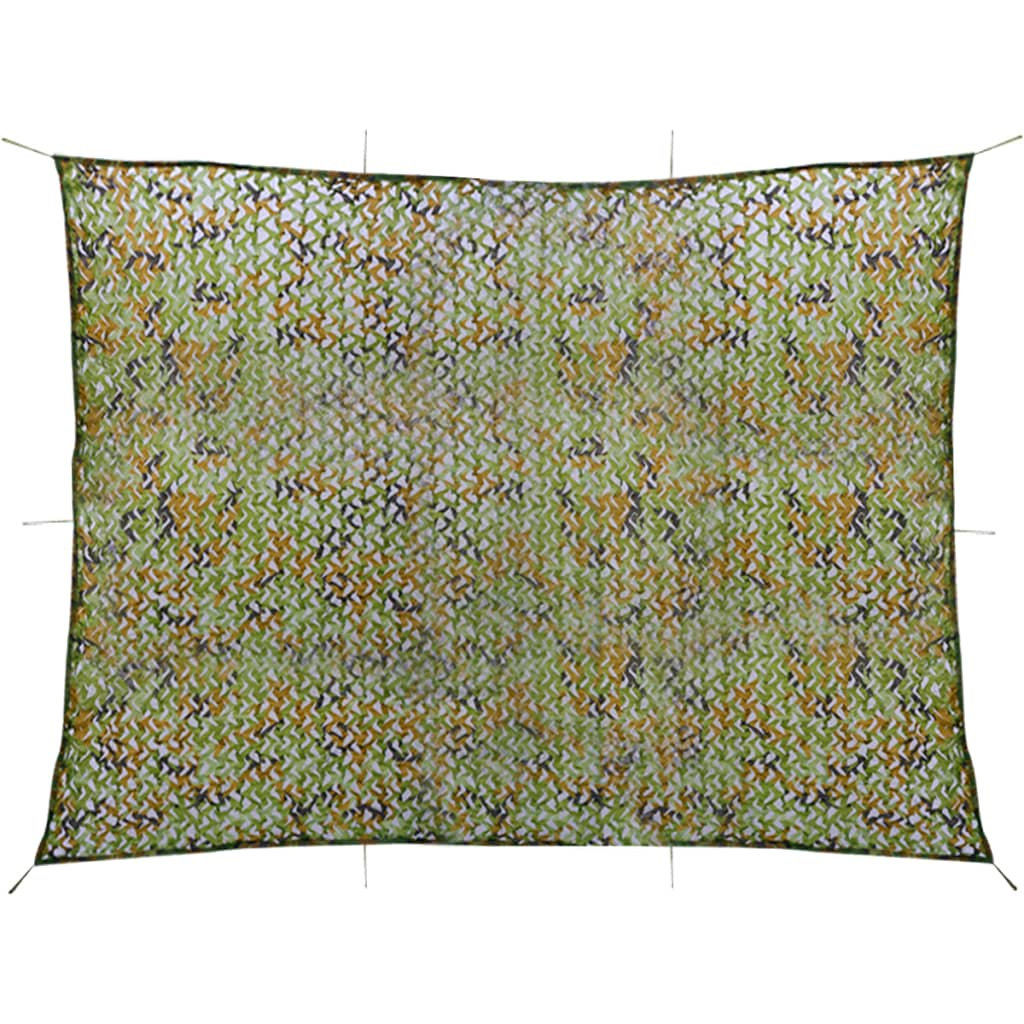 vidaXL Plasă de camuflaj cu geantă de depozitare 3x4 m poza vidaxl.ro