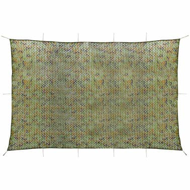 vidaXL Camouflage Net with Storage Bag 4x6 m[1/4]