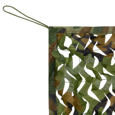 vidaXL Camouflage Net with Storage Bag 4x6 m[2/4]