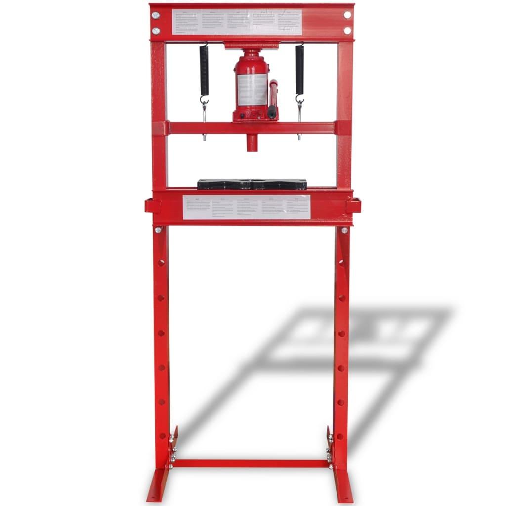 99141964 Werkstattpresse 20 Tonnen Rot