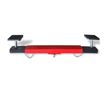 vidaXL Cross Beam Adapter 2 Ton Red