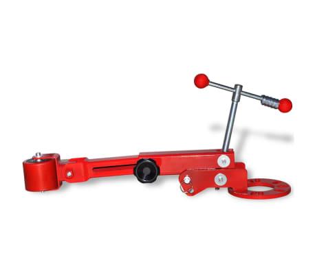 vidaXL Fender roller rouge[2/7]