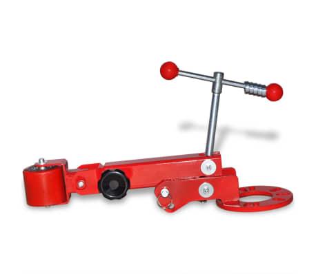 vidaXL Fender roller rouge[3/7]