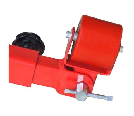 vidaXL Fender roller rouge[7/7]