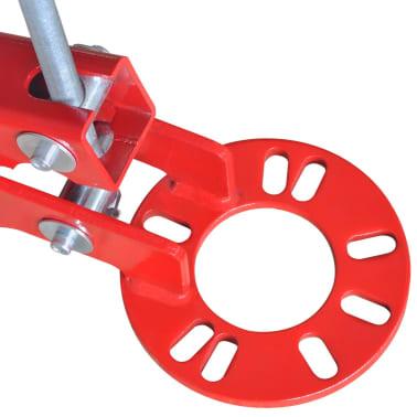 vidaXL Fender roller rouge[6/7]