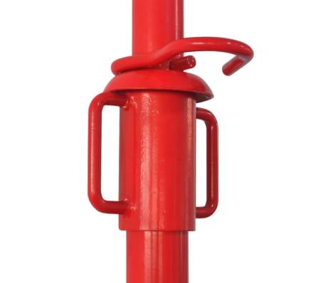 vidaXL Acrow Prop 280 cm Red[5/5]