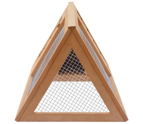 vidaXL Animal Rabbit Cage Wood[4/4]