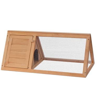 vidaXL Animal Rabbit Cage Wood[2/4]