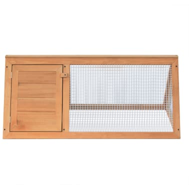 vidaXL Animal Rabbit Cage Wood[3/4]