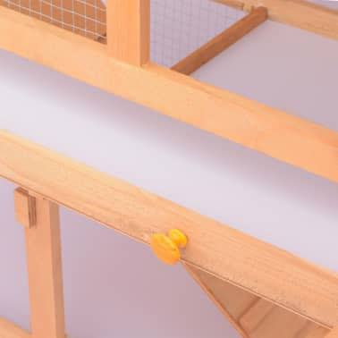 vidaXL Animal Rabbit Cage Outdoor Run Wood[5/7]