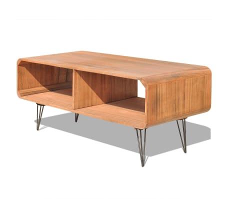 "vidaXL TV Cabinet 35.4""x15.4""x15.2"" Wood Brown[2/8]"