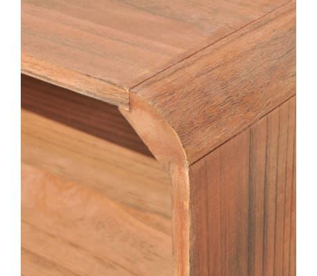 vidaXL Kavos staliukas, 90x55,5x38,5 cm, medinis, rudas[5/8]